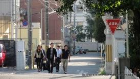 Group Leaving Nintendo HQ