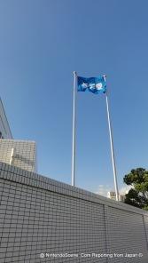 Nintendo HQ Company Flag