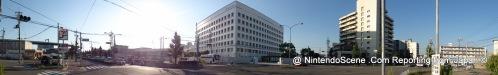 Panoramic Shot of Nintendo's HQ Building