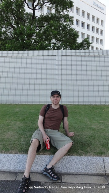 Chillin On Nintendo Lawn