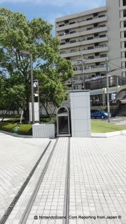 Nintendo HQ Main Entrance Gate