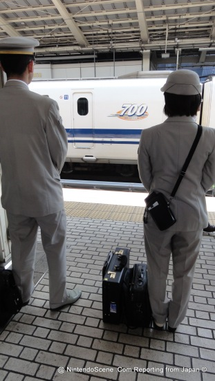 Shinkansen Ticket Conductors