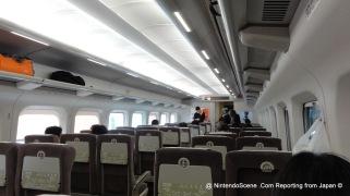 On-board to Tokyo to Kyoto Shinkansen