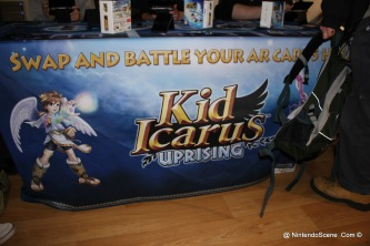 Kid Icarus Battle Squad - Display Table