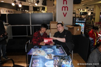 Kid Icarus Battle Squad - One of the four winner who took home a metalic red 3ds