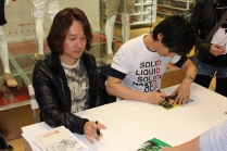Metal Gear Solid 25th Anniversary Uniqlo T-Shirt Launch and Signing (with Hideo Kojima and Yoji Shinkawa) 006