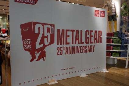 Metal Gear Solid 25th Anniversary Uniqlo T-Shirt Launch and Signing (with Hideo Kojima and Yoji Shinkawa) 001