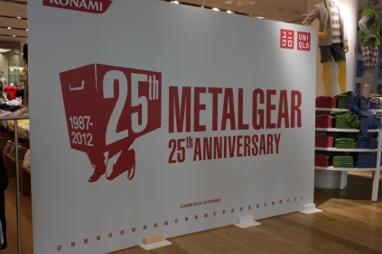 Metal Gear Solid 25th Anniversary Uniqlo T-Shirt Launch and Signing (with Hideo Kojima and Yoji Shinkawa) 001