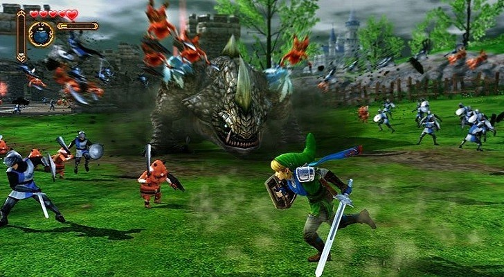 Ns Review Hyrule Warriors Wii U Nintendo Scene