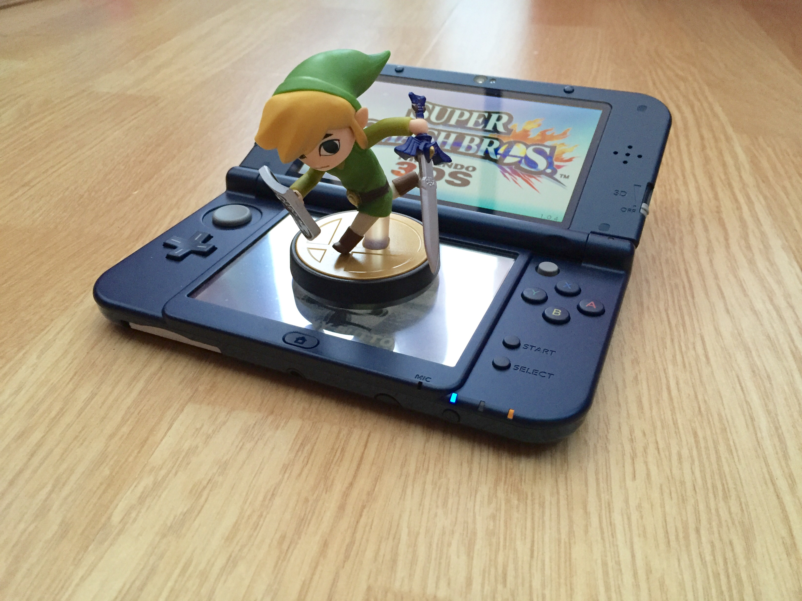 Ns Review Hands On With The New Nintendo 3ds Xl Scene 3 Ds Metallic Black Offering Nothing More Than Ability To Register Ownership A Feature I Should Also Touch Is Amiibo Settings Menu Option