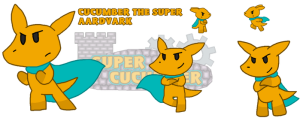 Cucumber the Super Aardvark