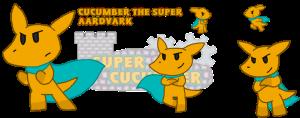 Cucumber the Super Aardvark