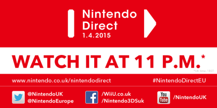 Nintendo Direct 1st April 2015