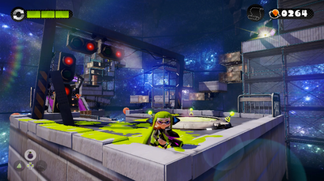 There are some gorgeous visuals in Splatoon, and the examples are in Hero Mode