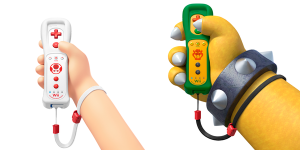 New Toad and Bowser Wii Remote Plus Controllers