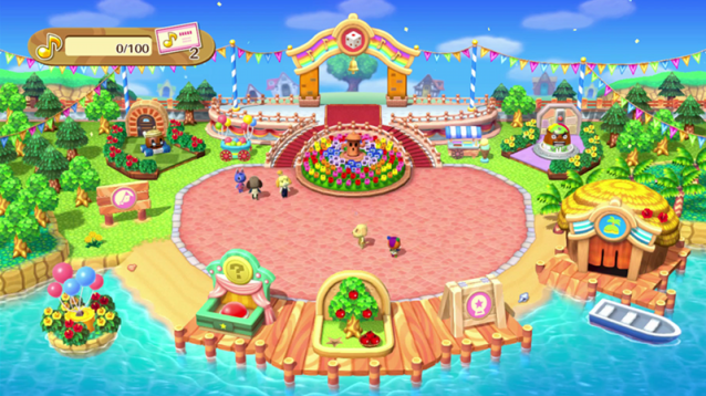 Your plaza and town will look sparse if you have few Amiibo products