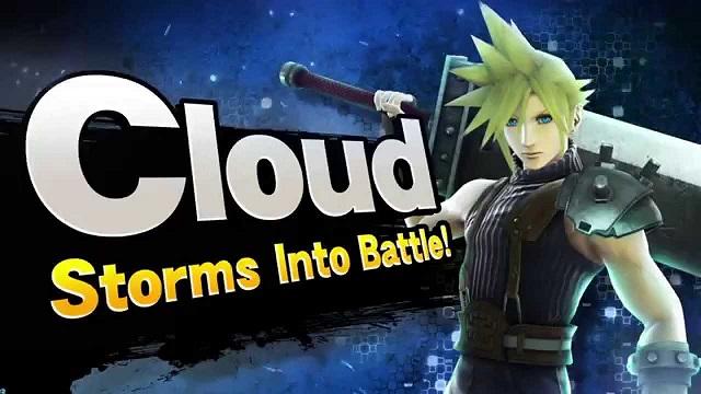 cloud strife super smash bros
