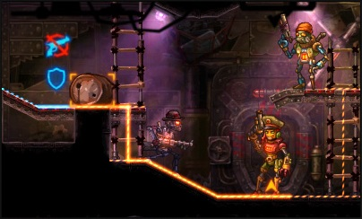 NS Review - SteamWorld Heist (3DS) 01