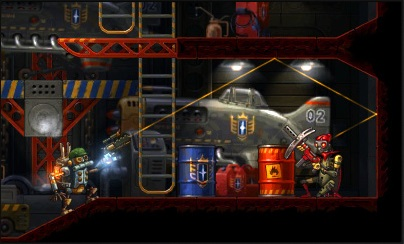 NS Review - SteamWorld Heist (3DS) 02