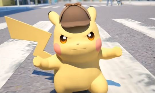 Pikachu doesn't look happy about his new look