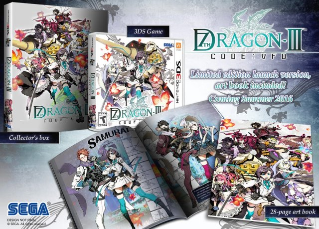 7th Dragon III Code:VFD Collectors Edition