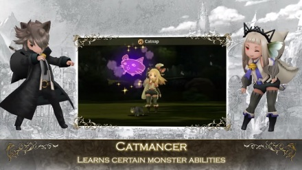 Catmancer Bravely Second