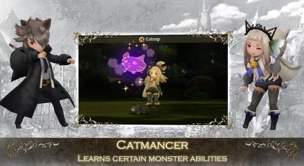 Catmancer Bravely Second