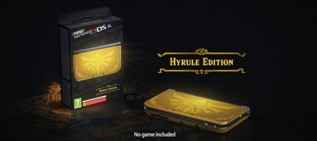 Hyrule Edition New 3DS XL