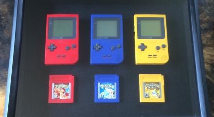 pokemon red, blue, yellow
