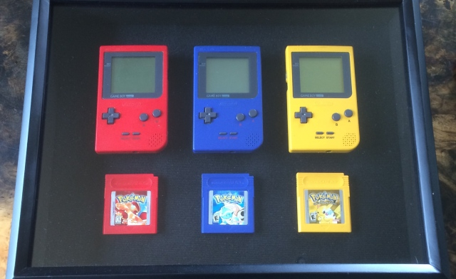pokemon red, blue, yellow