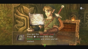 Twilight Princess HD dungeon map