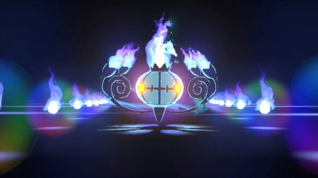 Chandelure Burst