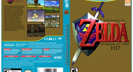 Zelda Ocarina of Time HD