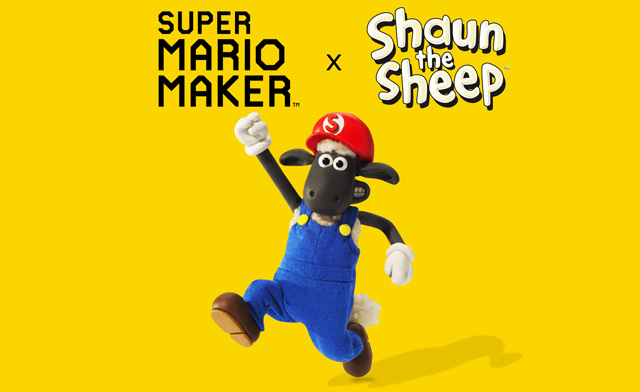 Shaun the Sheep Costume Available in Super Mario Maker | Nintendo Scene