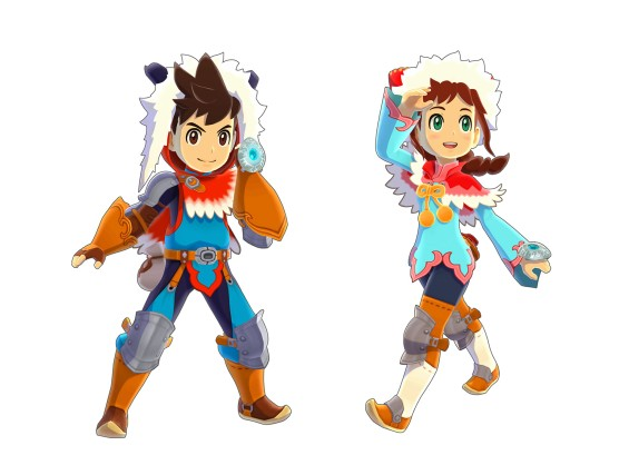CI_3DS_MonsterHunterStories_LuteAndLilia_mediaplayer_large