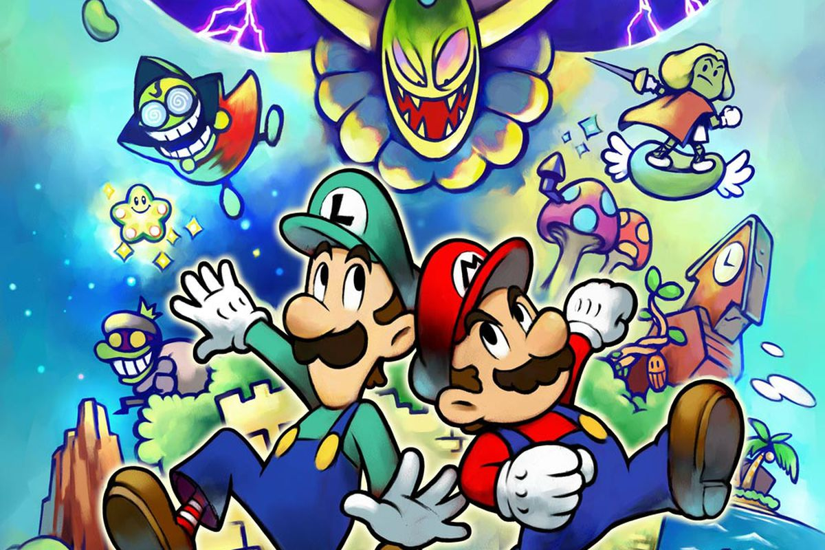 Ns Review Mario Luigi Superstar Saga Bowser S Minions