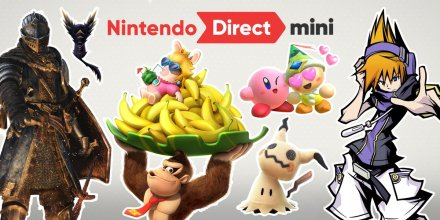 Nintendo Direct Mini Dark Souls Donkey Kong Kirby Mario Tennis