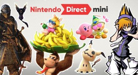 Nintendo Direct Mini Dark Souls Donkey Kong Kirby Mario Tennis