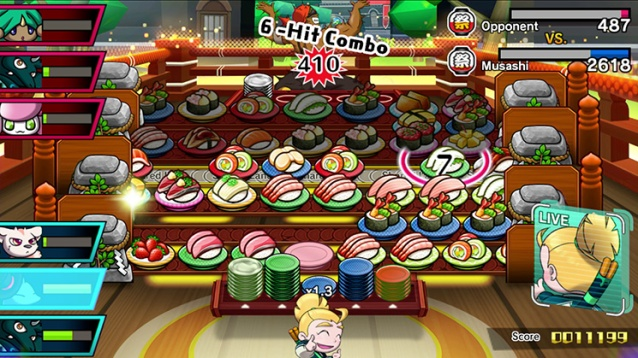 Sushi Striker: The Way of Sushido review