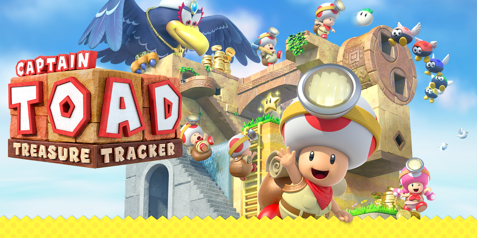 NS Review – Captain Toad: Treasure Tracker (Switch)