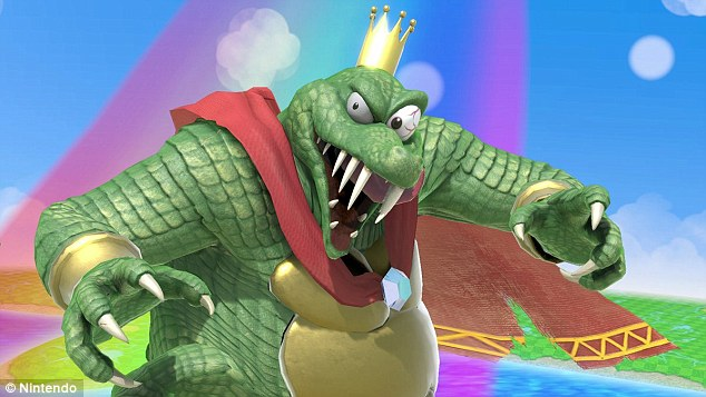 Super Smash Bros. Ultimate Simon Belmont and King K. Rool