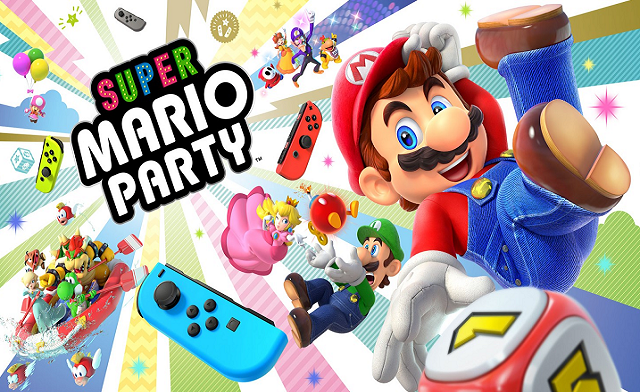 NS Review – Super Mario Party (Switch)