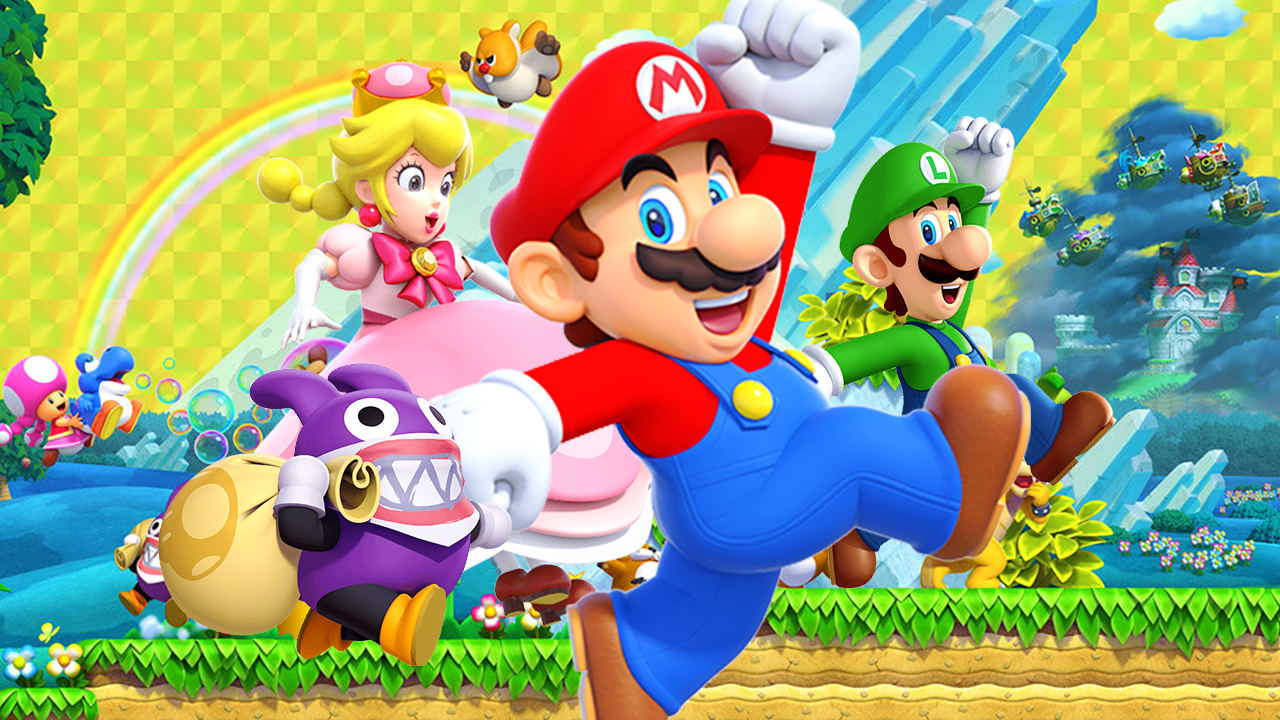 NS Review – New Super Mario Bros. U Deluxe (Switch)