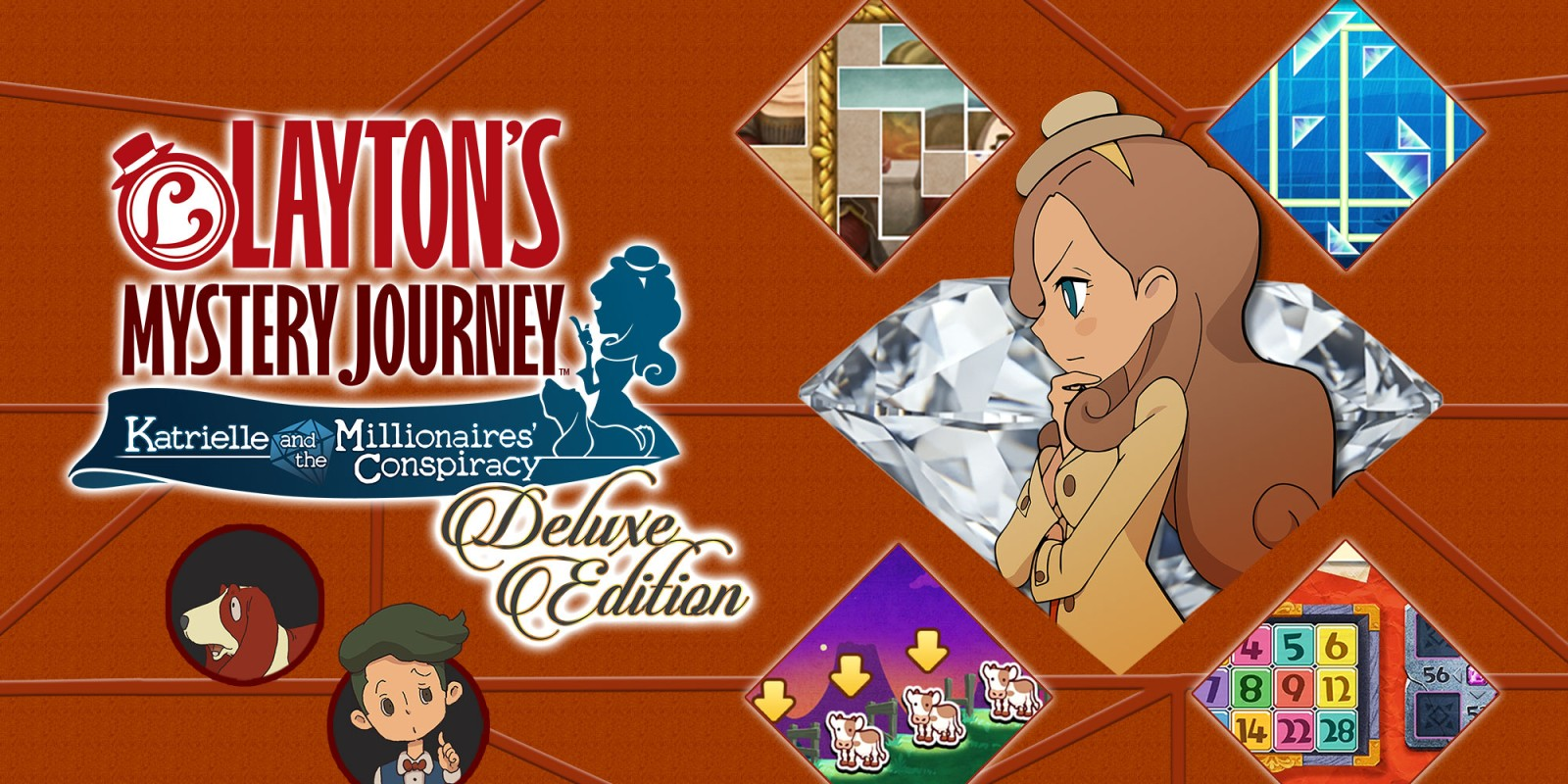 Layton's Mystery Journey: Katrielle and the Millionaires' Conspiracy – Deluxe Edition Review – Switch