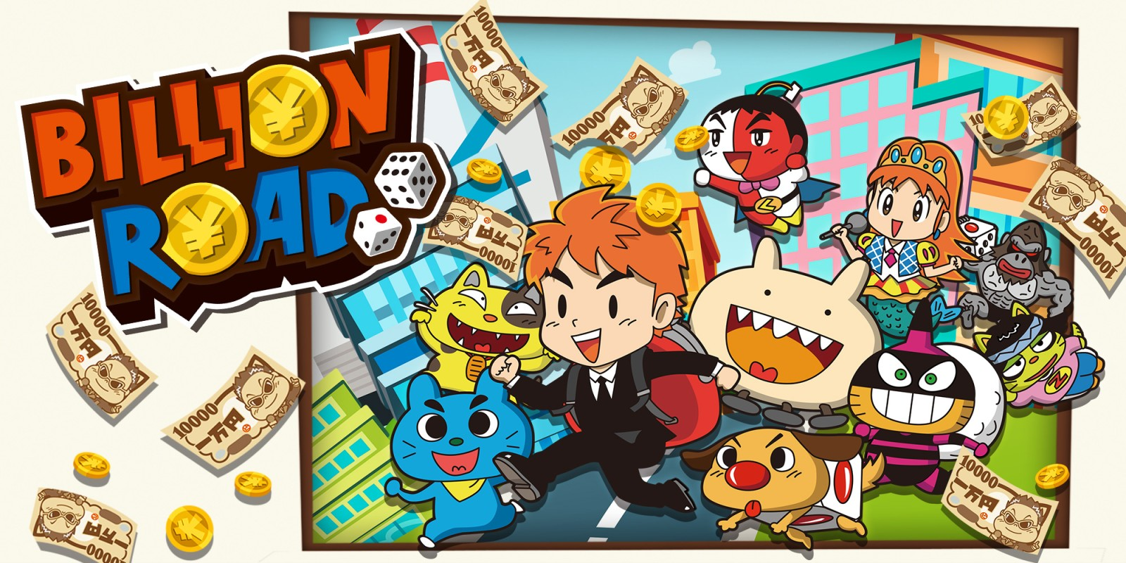 Billion Road Switch Review – Buying up Japan Boardgame Style